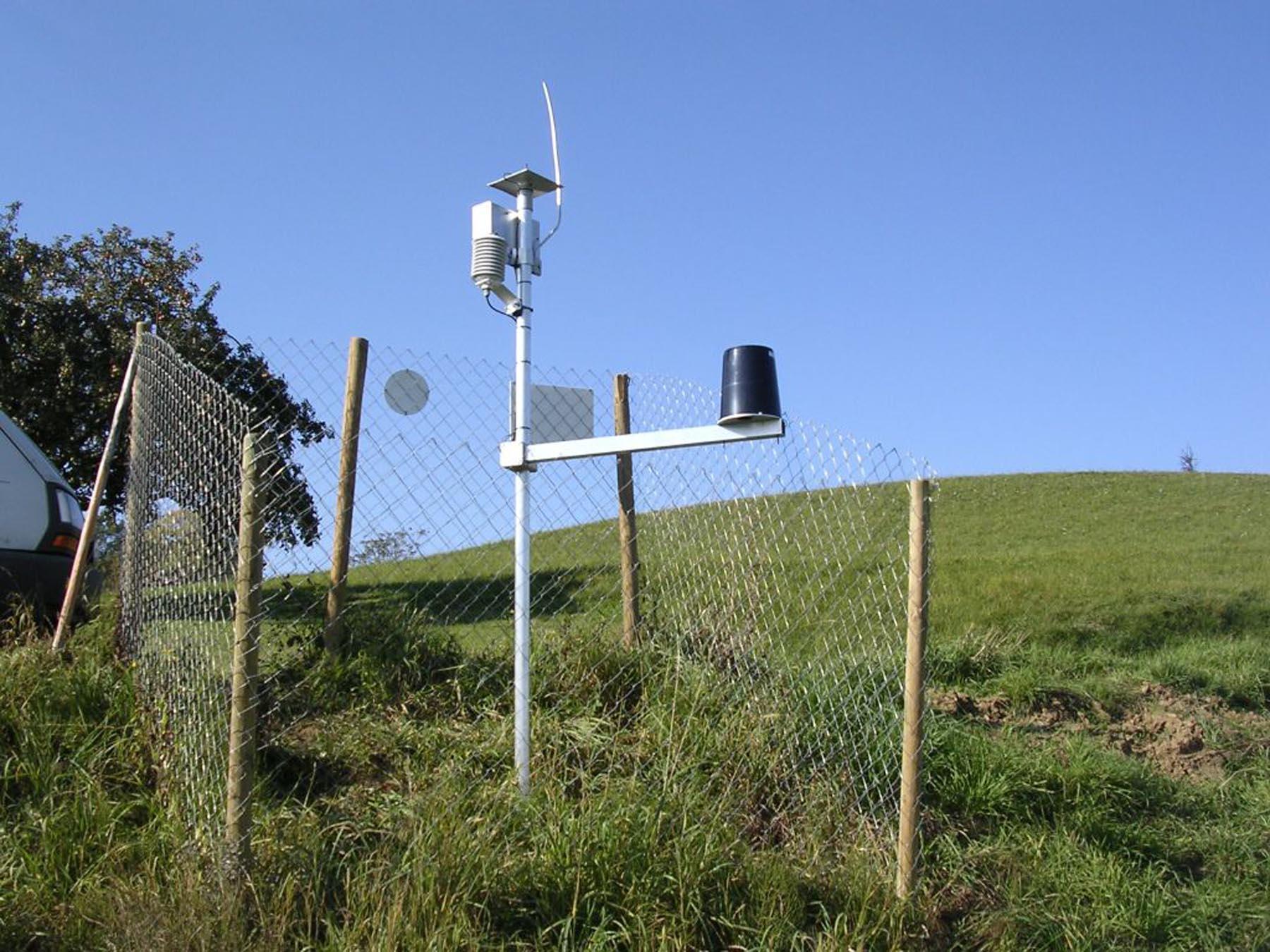 Messstation im Feldbachgebiet