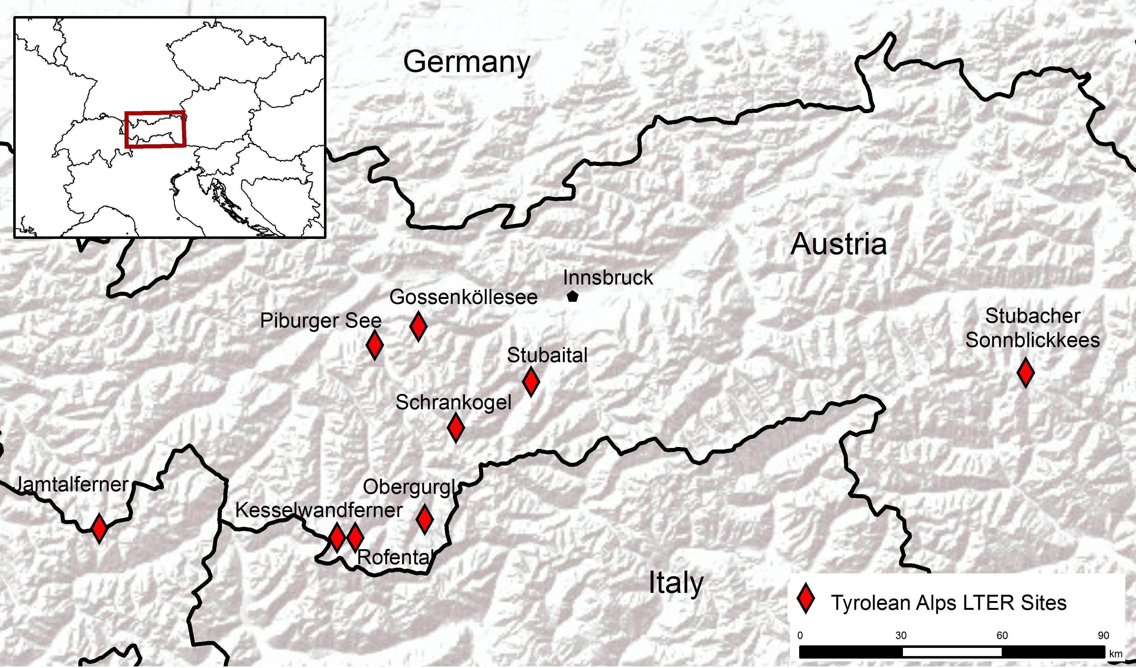 LTSER Plattform Tyrolean Alps (TA) | LTER Austria